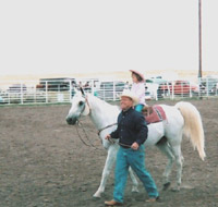 Morgan's first show